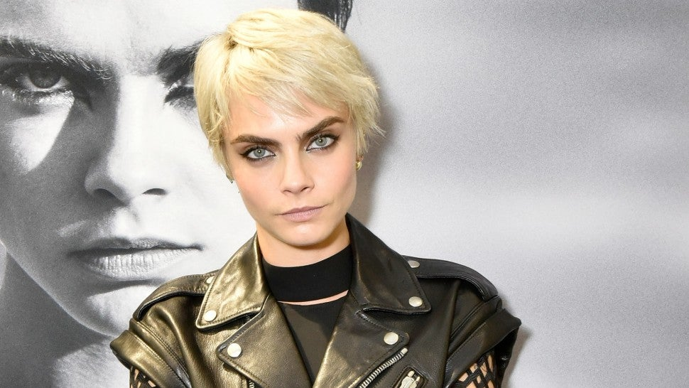 Cara Delevingne at TAG Heuer brand ambassador celebration