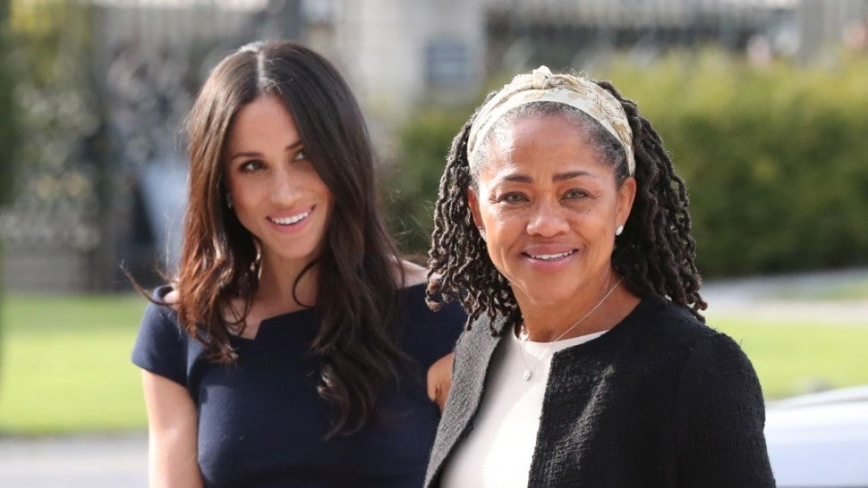 Meghan Markle's mom pays a visit to Kensington Palace