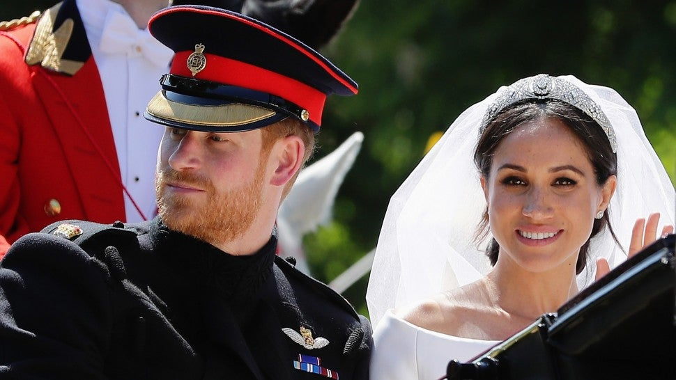 Meghan Markle Prince Harry royal wedding processional