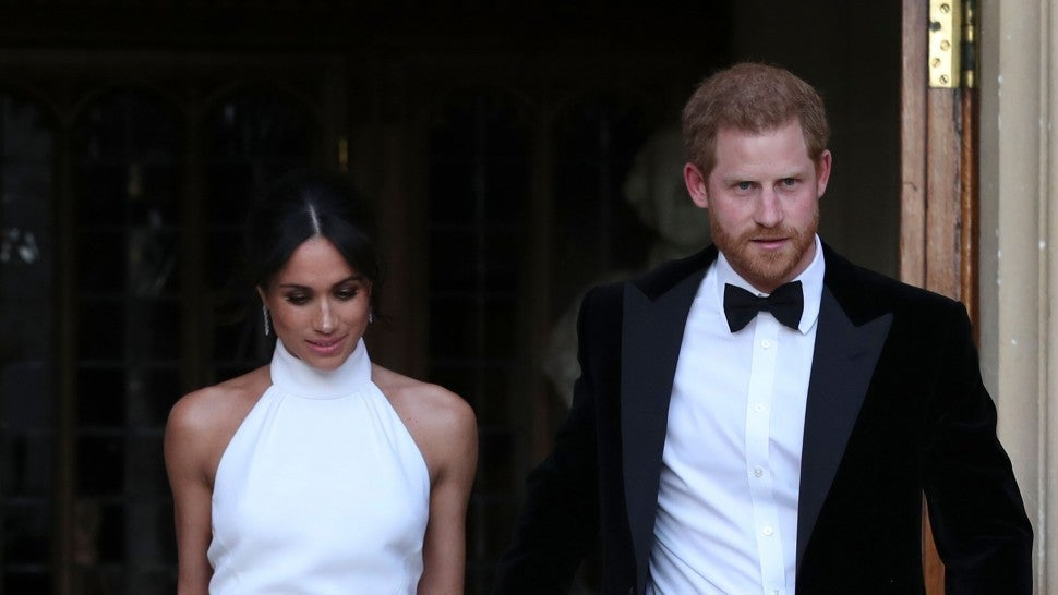 Inside Prince Harry Meghan Markles Top Tier Evening Wedding