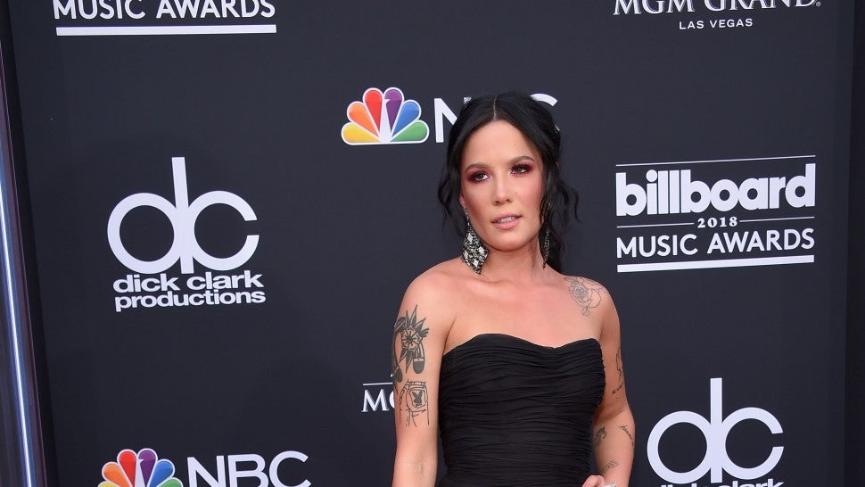 Halsey at billboard music awards