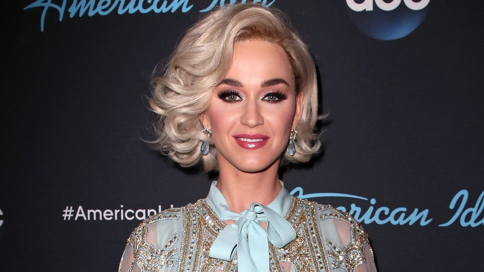 Katy Perry Dyes Her Hair Purple See The Pic Entertainment Tonight