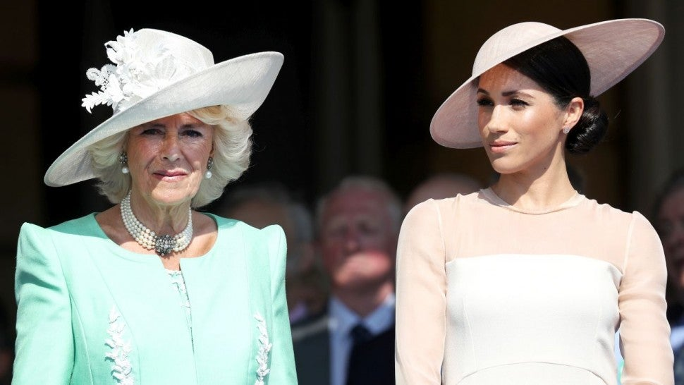 Camilla and Meghan Markle