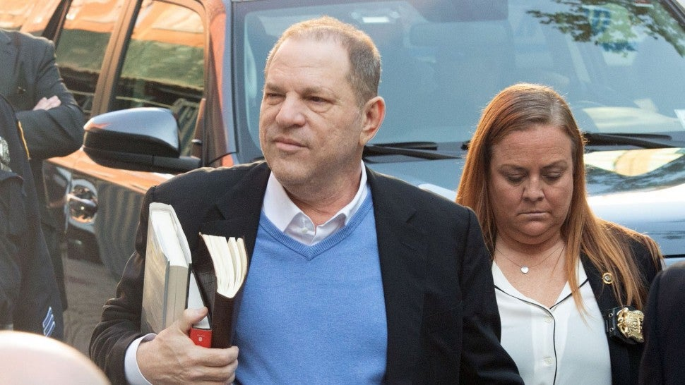 Weinstein 'to be charged' at NY  police precinct