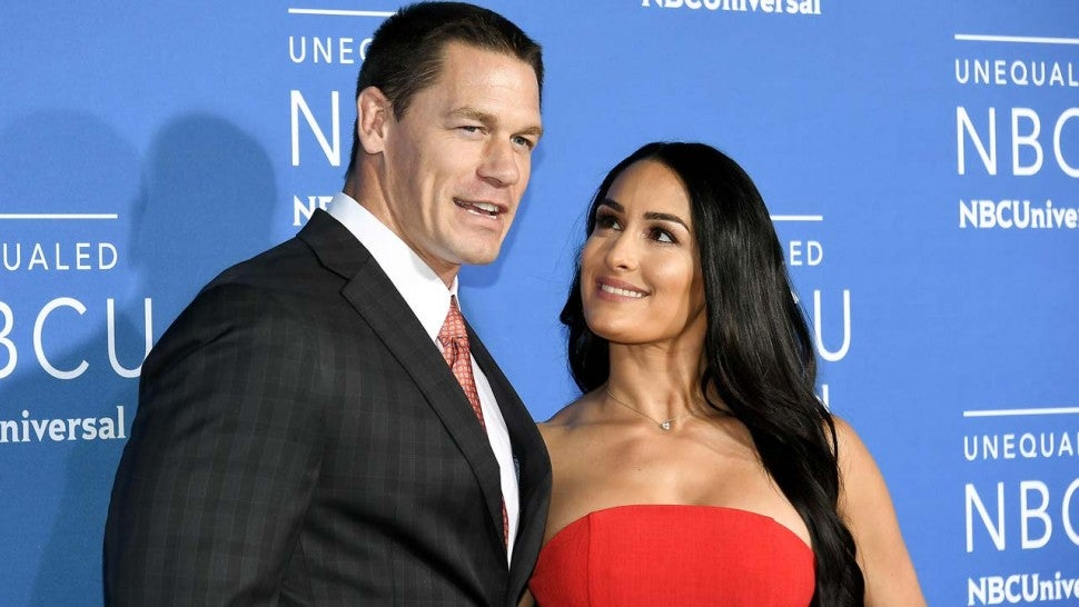 Nikki Bella Reacts To John Cena's Emotional