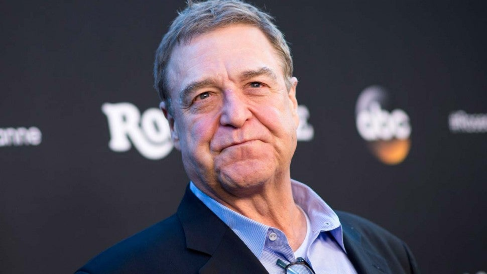 John Goodman guessing he's 'mopey' widower in Roseanne spinoff