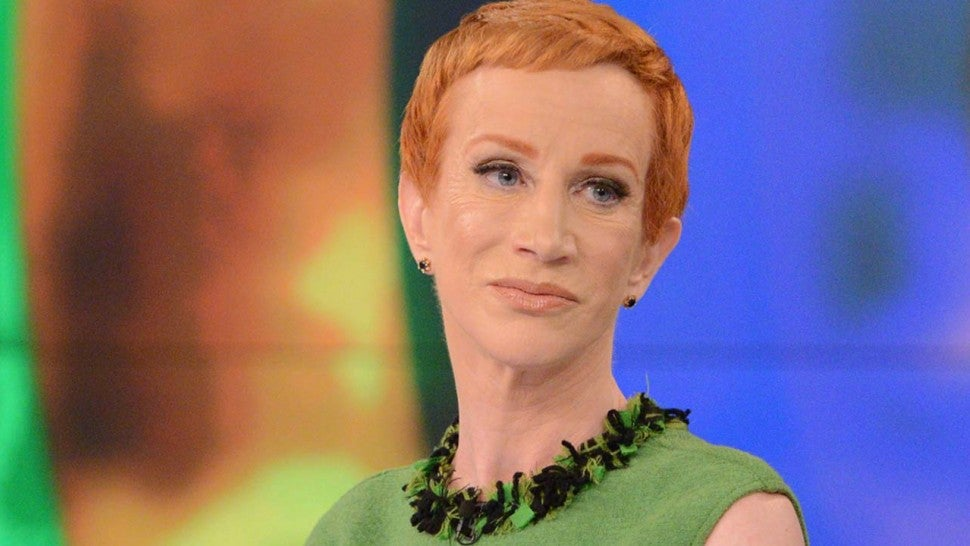 Kathy Griffin Reflects On Bloody Trump Photo Controversy in