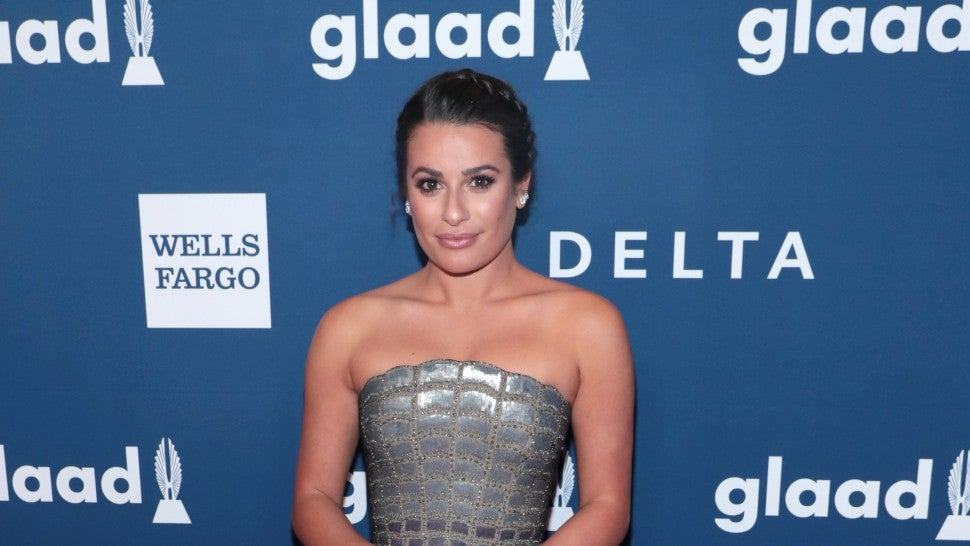 Lea Michele at GLAAD Awards