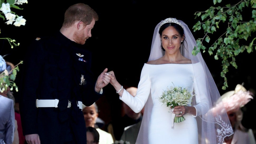 Meghan Markle Declares She Has Found Her Prince In Touching Wedding