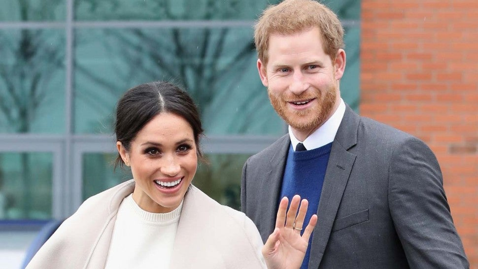 Meghan Markle and her fiance, Prince Harry