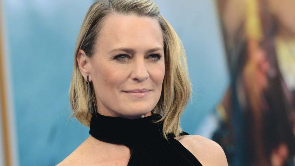Robin Wright speaks about ex-'House of Cards' star Spacey