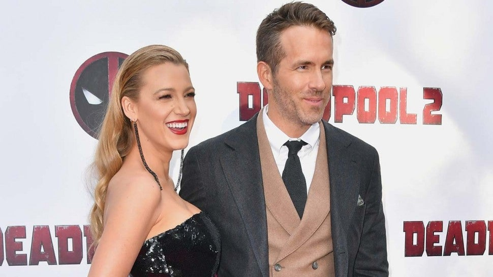 Blake Lively and Ryan Reynolds at the New York premiere of 'Deadpool 2'