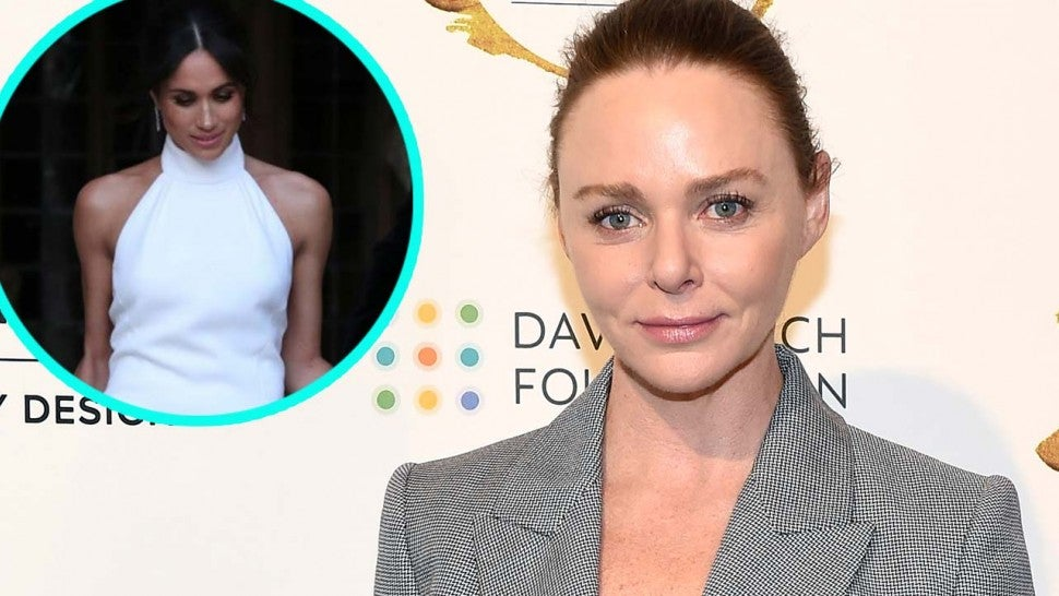 8b2d301d42d Stella McCartney Opens Up About Dressing Meghan Markle for Royal Wedding  Reception