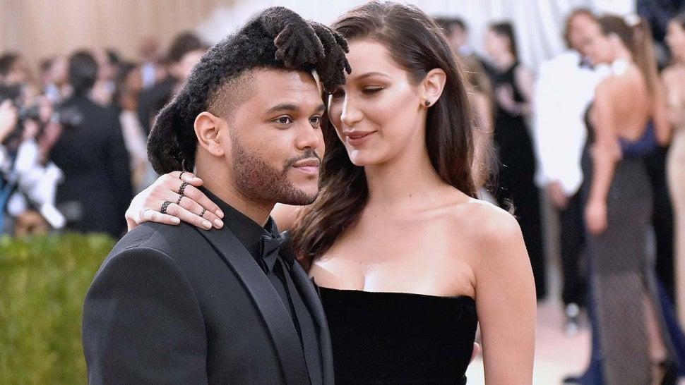 The Weeknd and Bella Hadid at the 2016 Met Gala