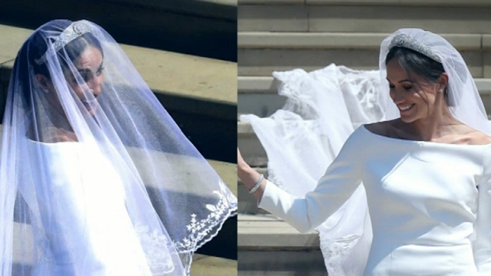 838f7e1608 How the Royal Wedding Dress Came Together -- From Meghan Markle s Eight  Fittings to Design Inspiration