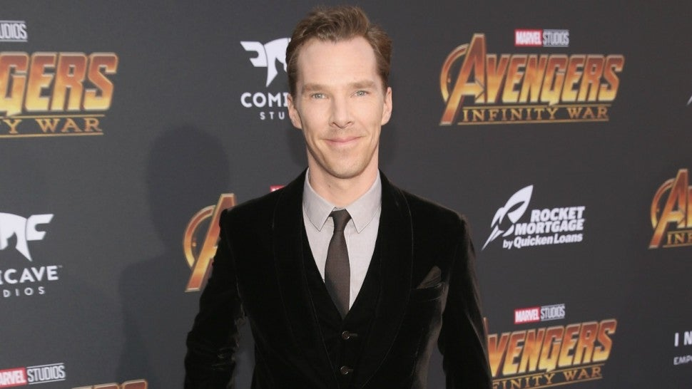 Benedict Cumberbatch attends the Los Angeles Global Premiere for Avengers: Infinity War on April 23, 2018 in Hollywood, California.