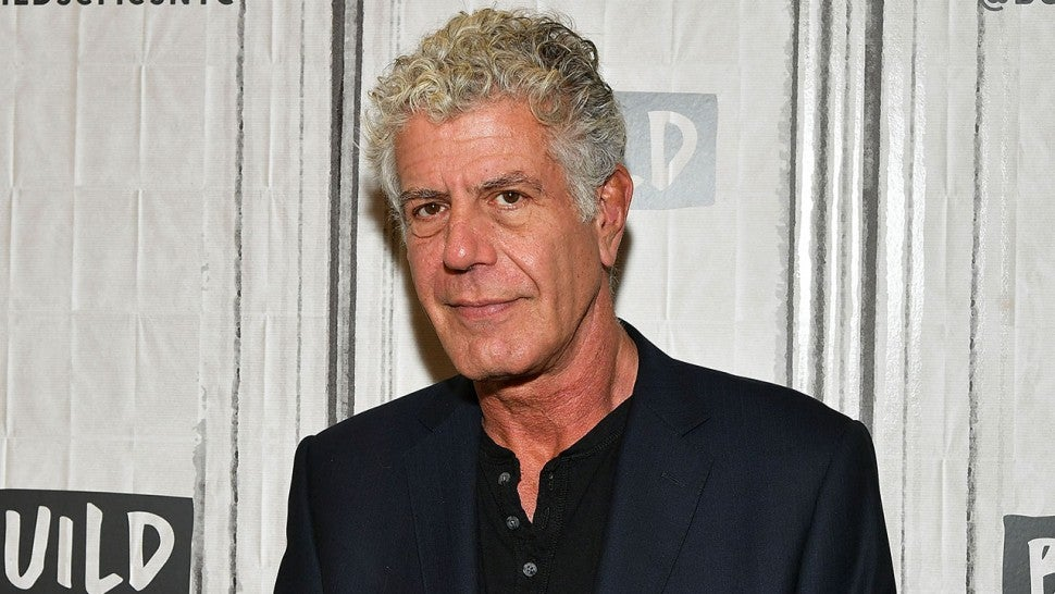 Anthony Bourdain in October 2017