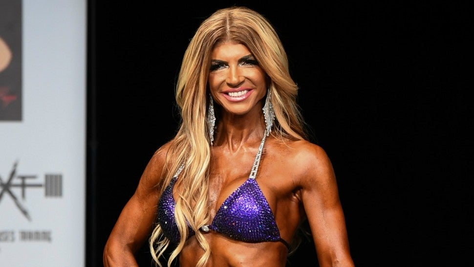 How Teresa Giudice Got in Shape for a Bodybuilding Competition