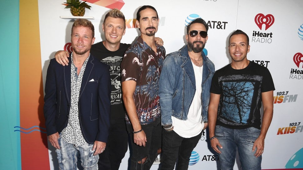 Fans injured in storm at Backstreet Boys concert