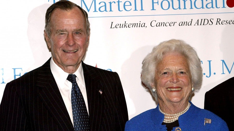 George H W Bush Shares Touching Birthday Message To Late Wife