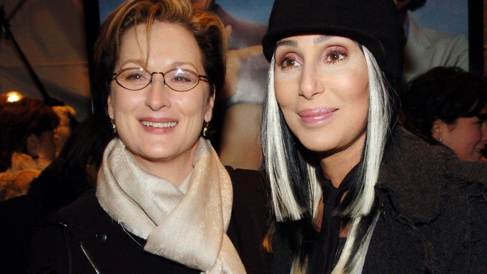 Cher and Meryl Streep once saved a woman from assault
