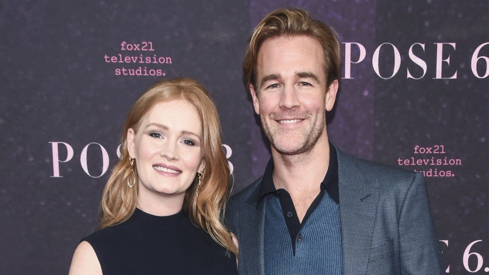 James Van Der Beek and wife Kimberly