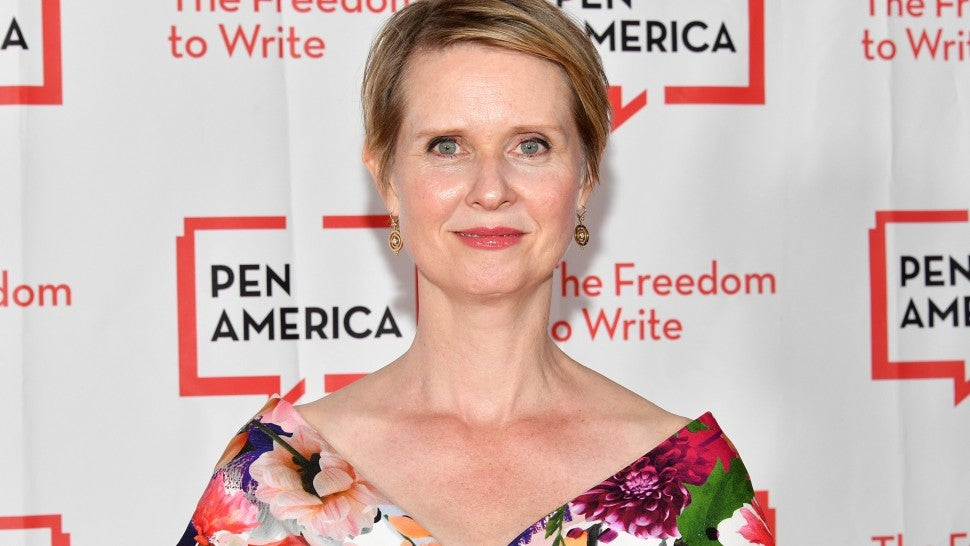 Cynthia Nixon celebrates #TransDayofAction with a post about her son