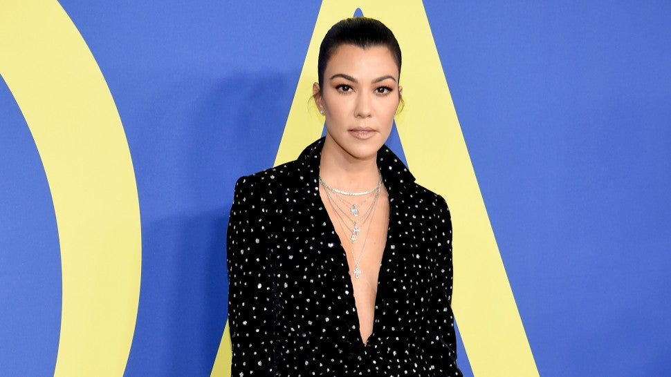 Kourtney Kardashian at the 2018 CFDA Fashion Awards