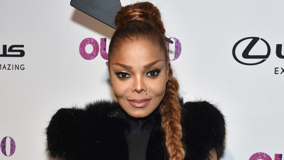 Janet Jackson out magazine