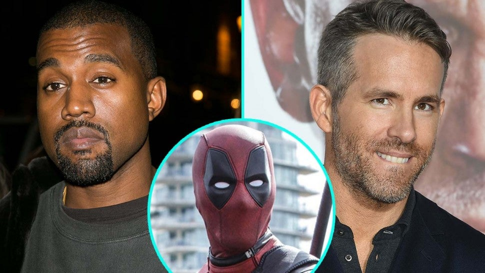 Ryan Reynolds Responds to Kanye West About 'Deadpool 2' Music