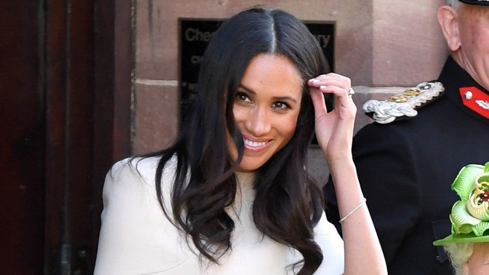 Meghan Markle joins Queen Elizabeth on royal train alone for appearance