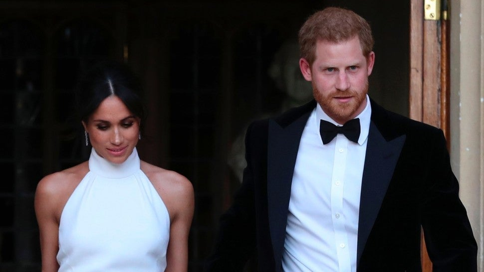 Meghan Markle's reception dress is up for sale