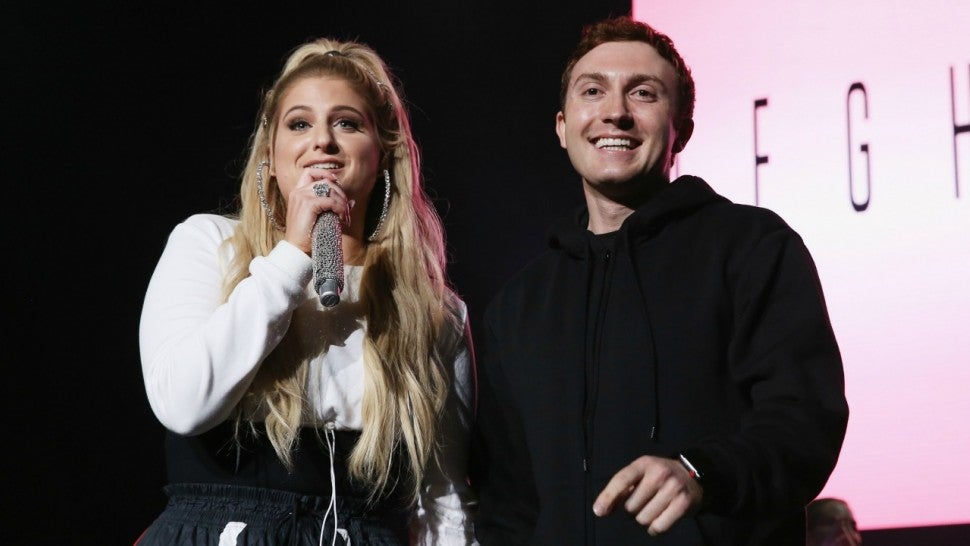Meghan Trainor performs onstage for Daryl Sabara at Jones Beach Theater on June 15, 2018 in Wantagh, New York.