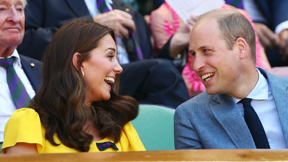 Kate Middleton and Prince William at Wimbledon 2018