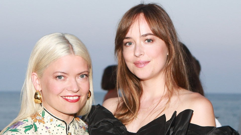 Dakota Johnson and Kate Young