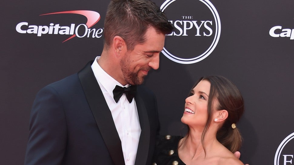 Danica Patrick and Aaron Rodgers star in 'I, Tonya' parody at ESPYS