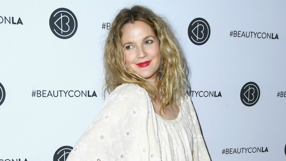 drew barrymore shares photo of herself crying some days are