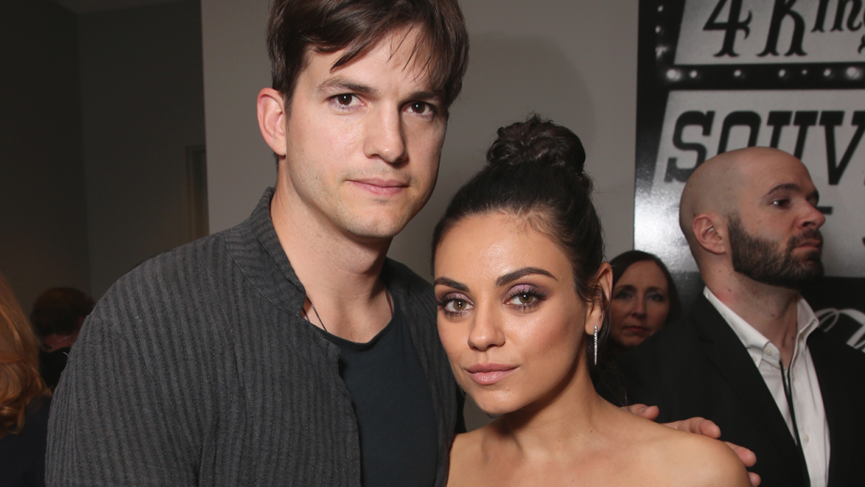 Mila Kunis says she and husband Ashton Kutcher nearly died