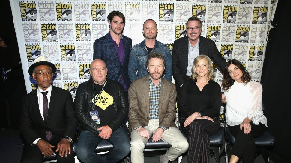 Breaking Bad cast Comic-Con 2018