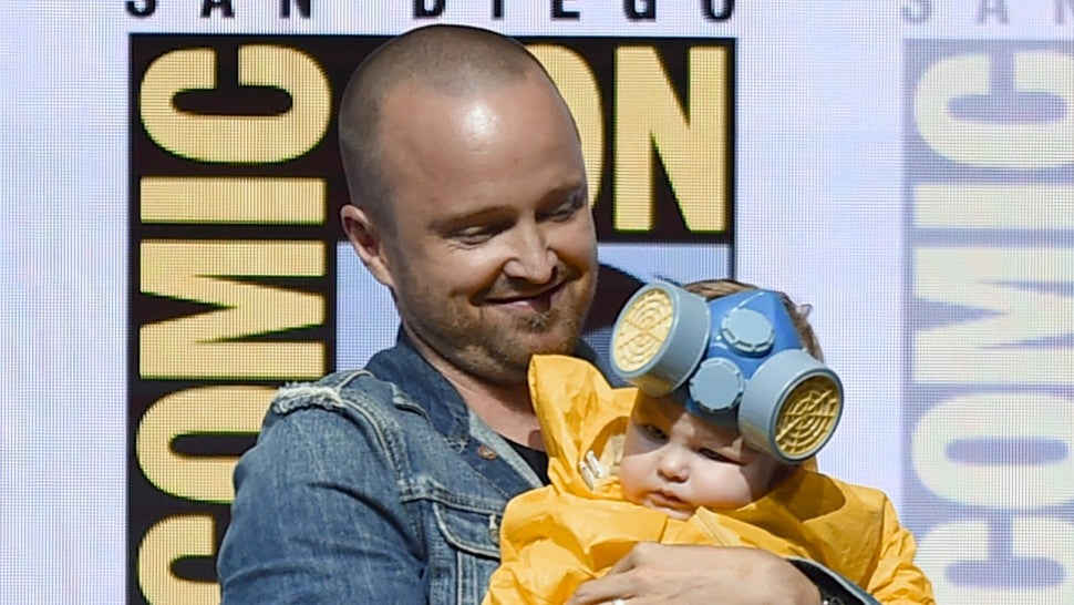 Aaron Paul and daughter Story Comic-Con 2018