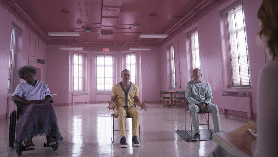 Unbreakable and Split Collide in the First Outstanding Trailer for Glass
