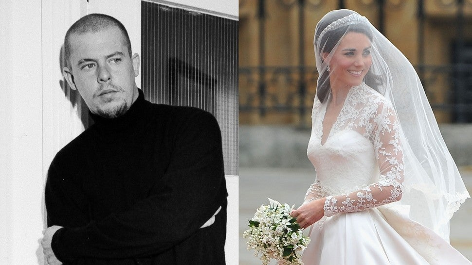 Alexander McQueen and Kate Middleton