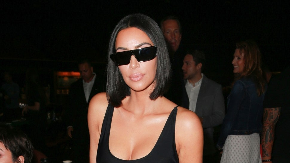Kim Kardashian Poker night