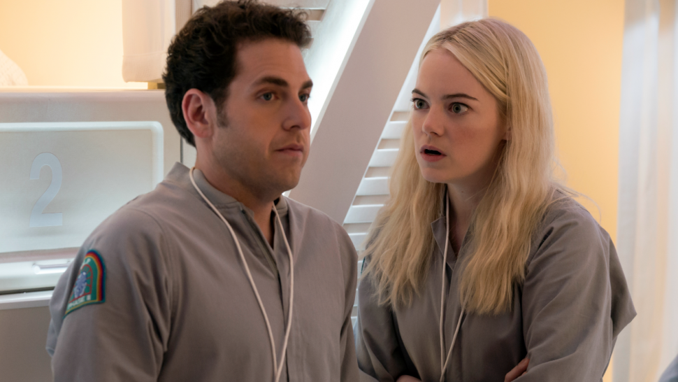 e5339206d Justin Theroux, Emma Stone and Jonah Hill's 'Maniac' Reveals Netflix  Premiere Date -- Watch Teaser!