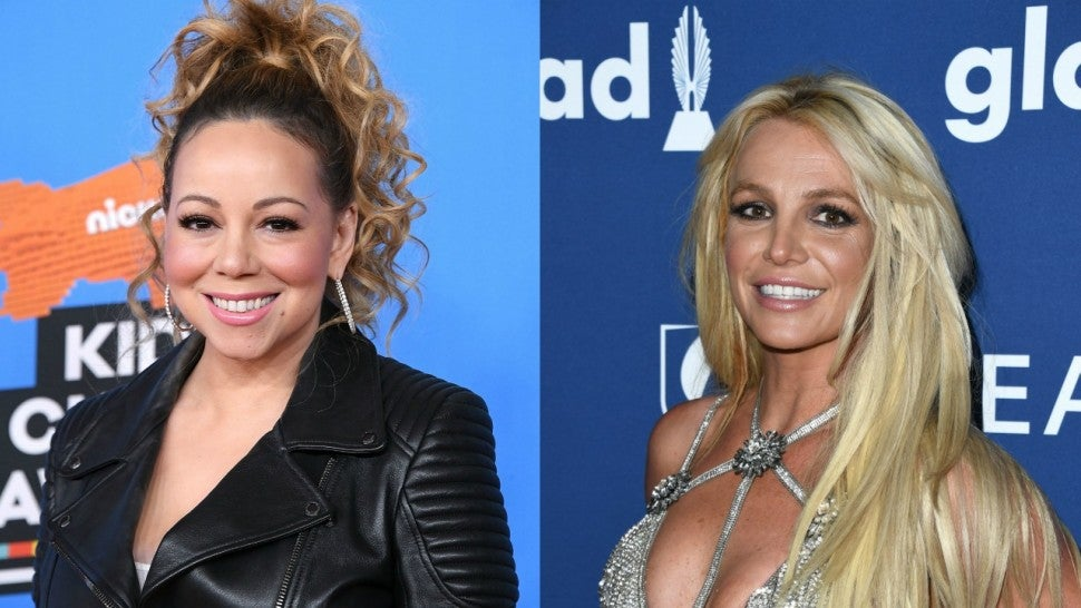 Mariah Carey and Britney Spears