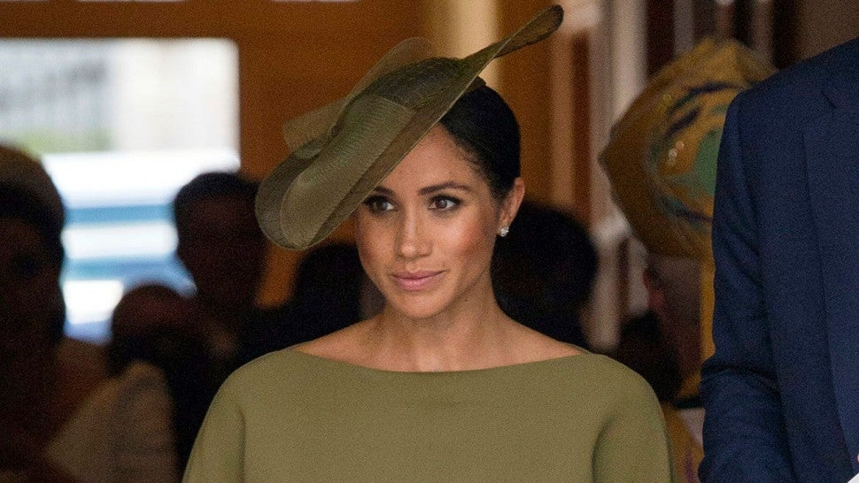 Prince Harry and Meghan arrive to meet Irish leader Michael Higgins