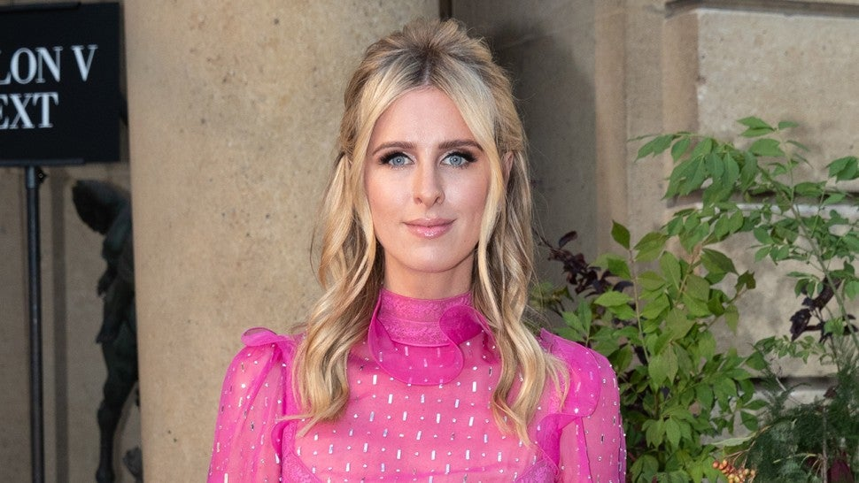 Nicky Hilton at Valentino front row