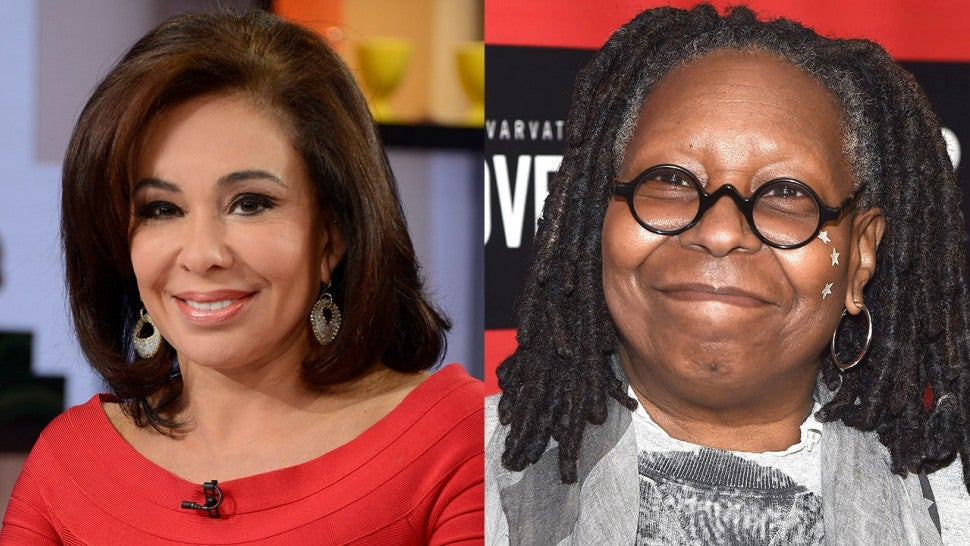 Whoopi Goldberg & Jeanine Pirro Argue Over Trump on 'The View'