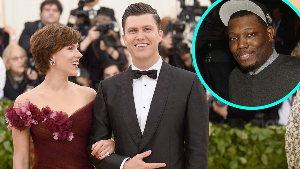Scarlett Johansson and Colin Jost's Dinner Was Interrupted By A Clown