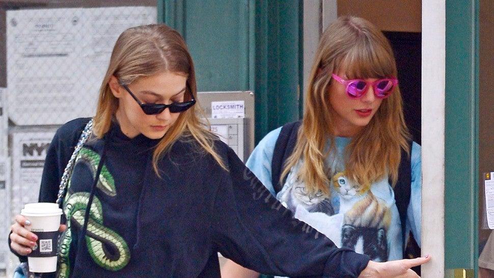 Taylor Swift Reunites With Bestie Gigi Hadid In Nyc Entertainment Tonight